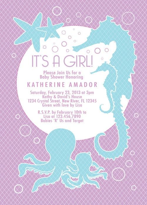 color options lavender girl or boy sea theme baby shower