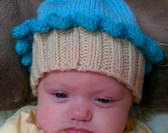 Sale- Ready Ship Cupcake Hats-Sizes 14-15INCH 0-3 month