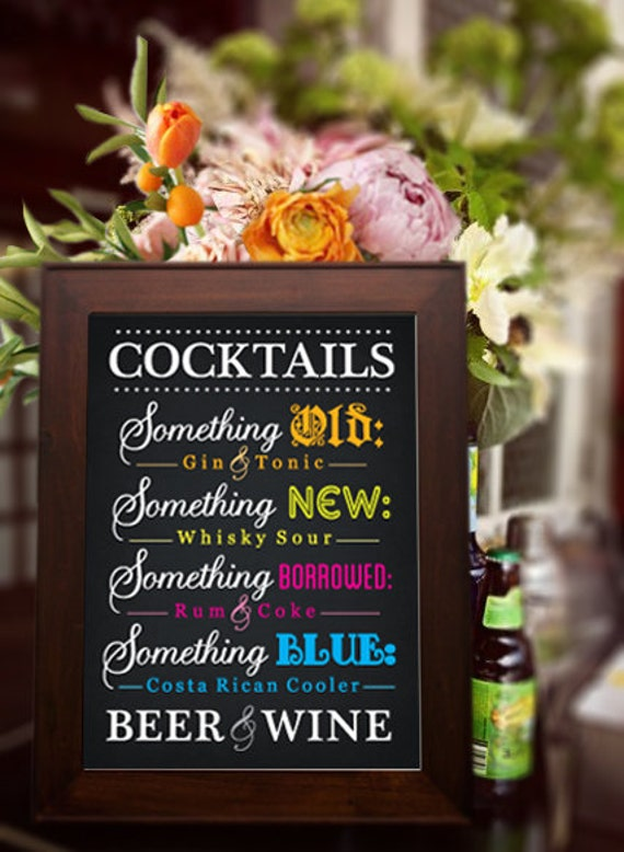 Save On The Bar With Signature Wedding Cocktails | A Bride ...