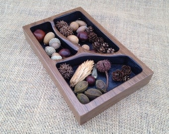 Branch Trays- Small Walnut
