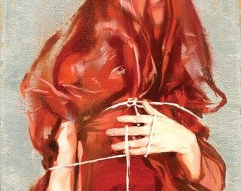 "You Are Scared - Fine Art Print by Jonny Ruzzo - 13"" x 19"""