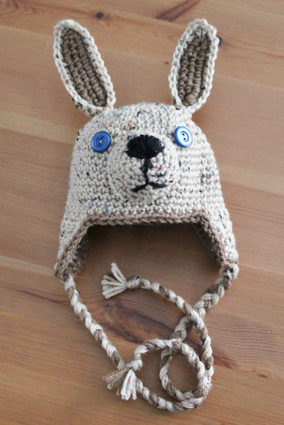 Baby kangaroo hat - joey hat - newborn to toddler sizes availableNewborn Baby Kangaroo