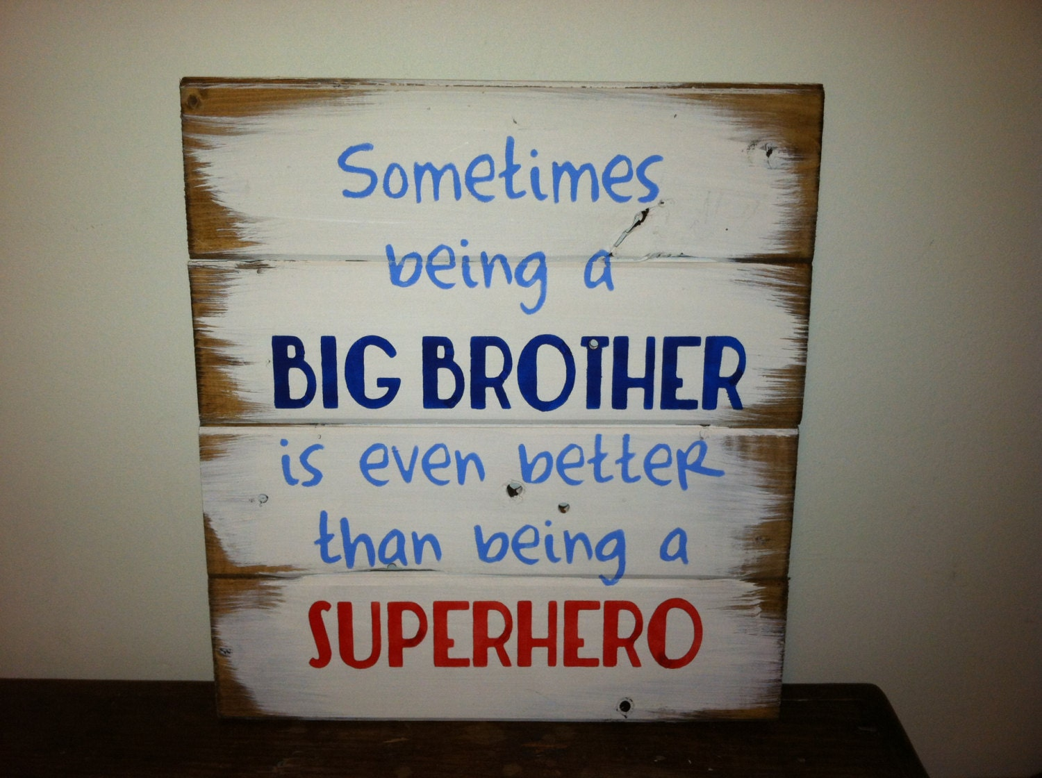sometimes being a big brother is even better than being a