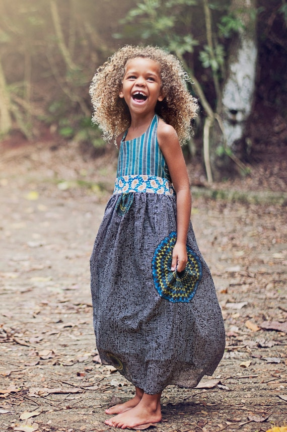 Girls Maxi Dress - Qi Dress