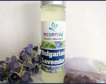 Bulgarian Lavender Essential Oil Aromatherapy Natural Roll-On Perfume Oil   Vegan   Non-Toxic Fragrance Alternative   No Gluten - .35 oz