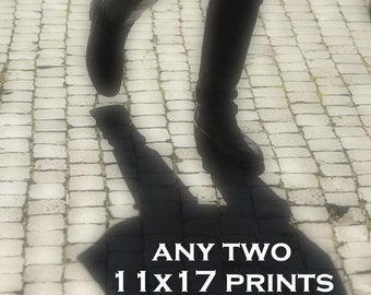 Choose any two 11x17 photographs / prints