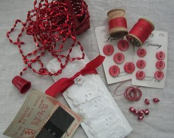 Vintage Reds Creative Inspiration Artpack
