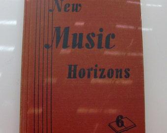 1946 New Music Horizons 6 School Book