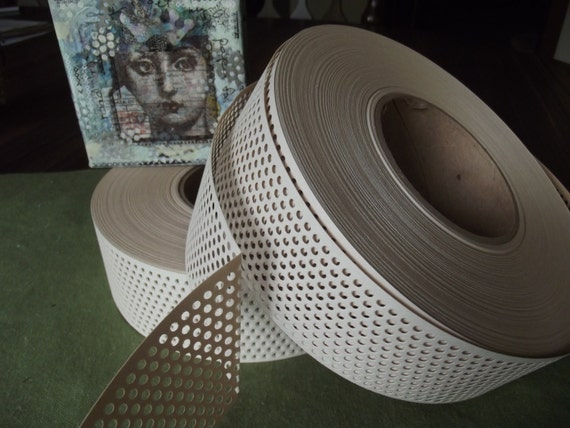 Adhesive Paper Drywall Tape : Mixed media joint tape self adhesive paper with holes