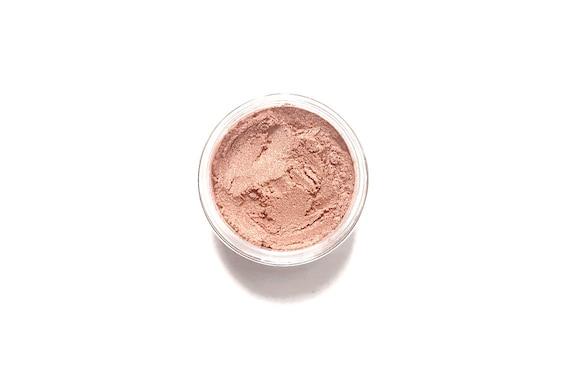 Vegan Mineral Eyeshadow // Ginger //  Peachy Apricot Mineral Eye Shadow