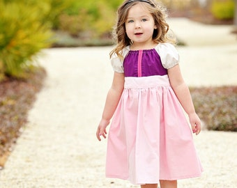 Princess Eilonwy - Everyday Princess Dress - Disney Inspired Peasant Dress - Sizes 6/12mo through 15/16