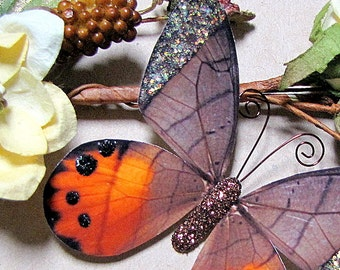 Butterfly Embellishments Nutmeg Wings