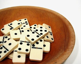 Dominoes Domino Tile Home Decor Collection Vintage Supplies