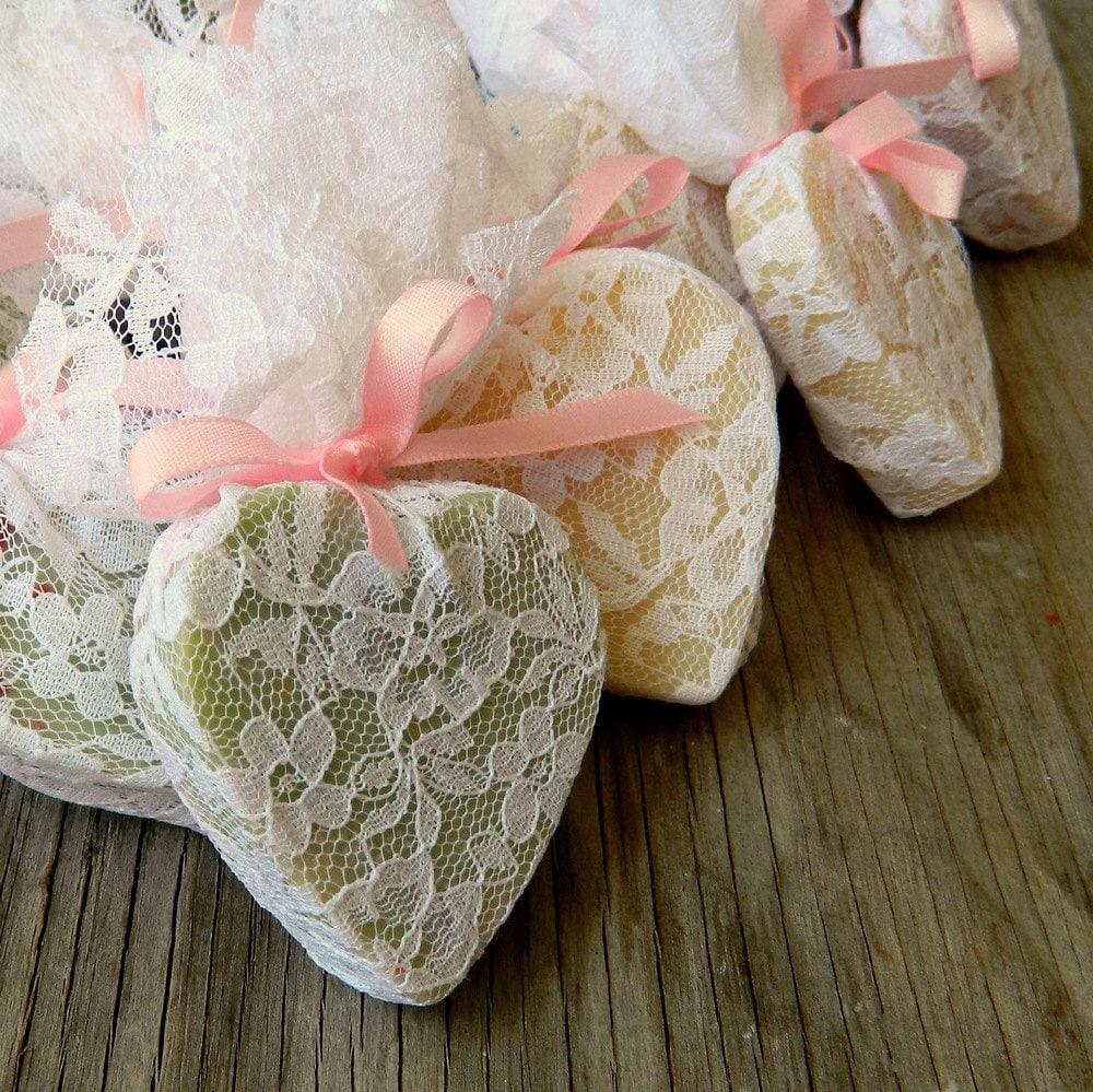 Wedding favour heart soap favor wedding shower favors as - Recuerdos de bodas para invitados ...