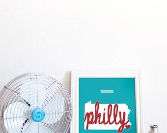 Philadelphia Love // 8x10 Digital Print