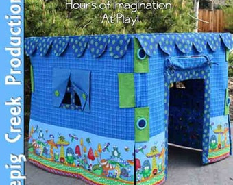 Card Table Play House Sewing Pattern