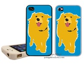 Golden Retriever iPhone Case  fits iphone 6, 5, 5c, 4 and 4s