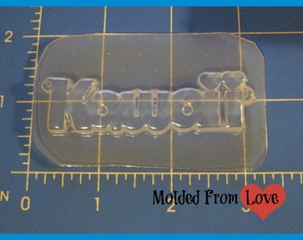 SALE Kawaii Word  Resin  Mold