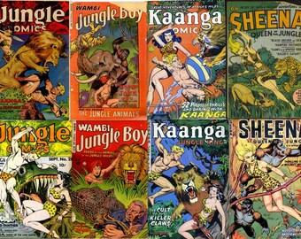 DVD Golden Age FICTION HOUSE Jungle Comics (vol 2) Sheena Queen Wambi Kaanga 1920s
