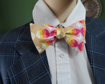 Men's Bow Tie Peter Max Style