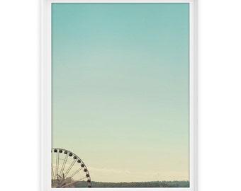 Seattle 1 (Ferris Wheel) // Fine Art Giclée Print // Photography