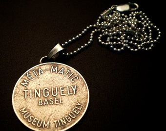 Sterling Silver Tinguely Pendant