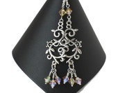 Swarovski Crystal Chandelier Earrings, Gifts for Women Mom Wife Sister Daughter Under 30, Wedding Jewelry, Stocking Stuffers