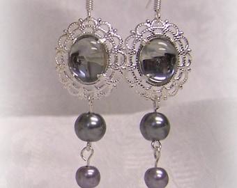 Rain Tudor Renaissance Pearl Earrings Jewelry Game of Thrones