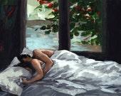 Asleep . giclee art print