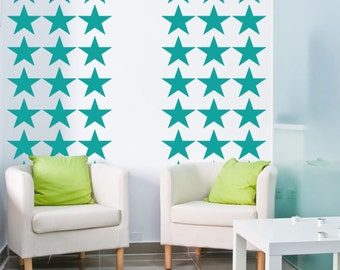 Star Wall Decals, Independence Day, 4th of July, Patriotic Decor, Fourth of July, Americana Wall Decor, Nursery Wall Decal, Dorm Decor
