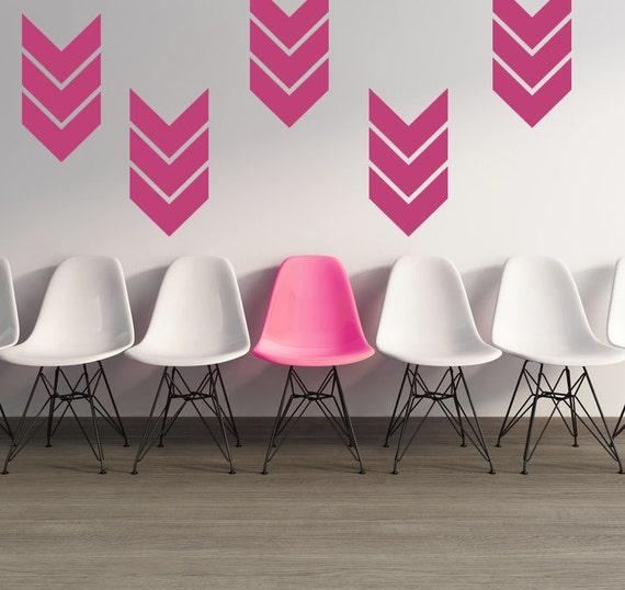 desain dinding motif unik chevron