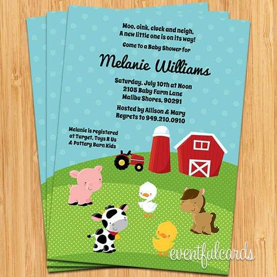 Barnyard Invites was luxury invitations template