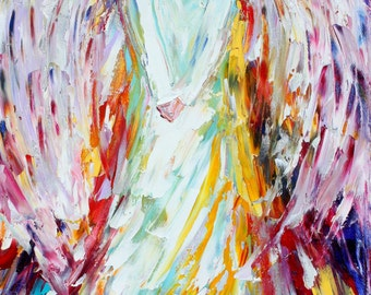Angel of Joy Fine Art Print made from image of oil painting by Karen Tarlton