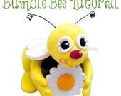 Polymer Clay Tutorial - Bumble Bee Figurine Tutorial