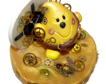 STEAMPUNK PARKER Figurine - Polymer Clay Character - Limited Edition Figurine