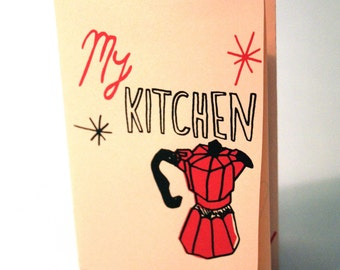 Kitchen zine