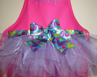 2 Kids Personalized Tutu Aprons