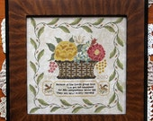 New Every Morning : Cross Stitch Pattern by Heartstring Samplery