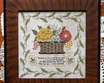 New Every Morning : Cross Stitch Pattern by Heartstring Samplery
