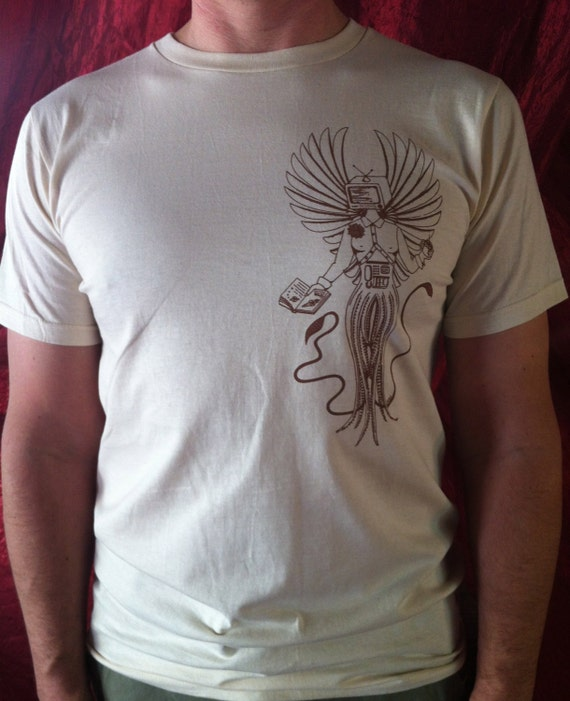 The Spirit of Speculation organic sci-fi t-shirt for men