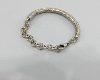 10 Pcs Antique Silver Plated   Bracelet Components Findings For Your Craft , G109