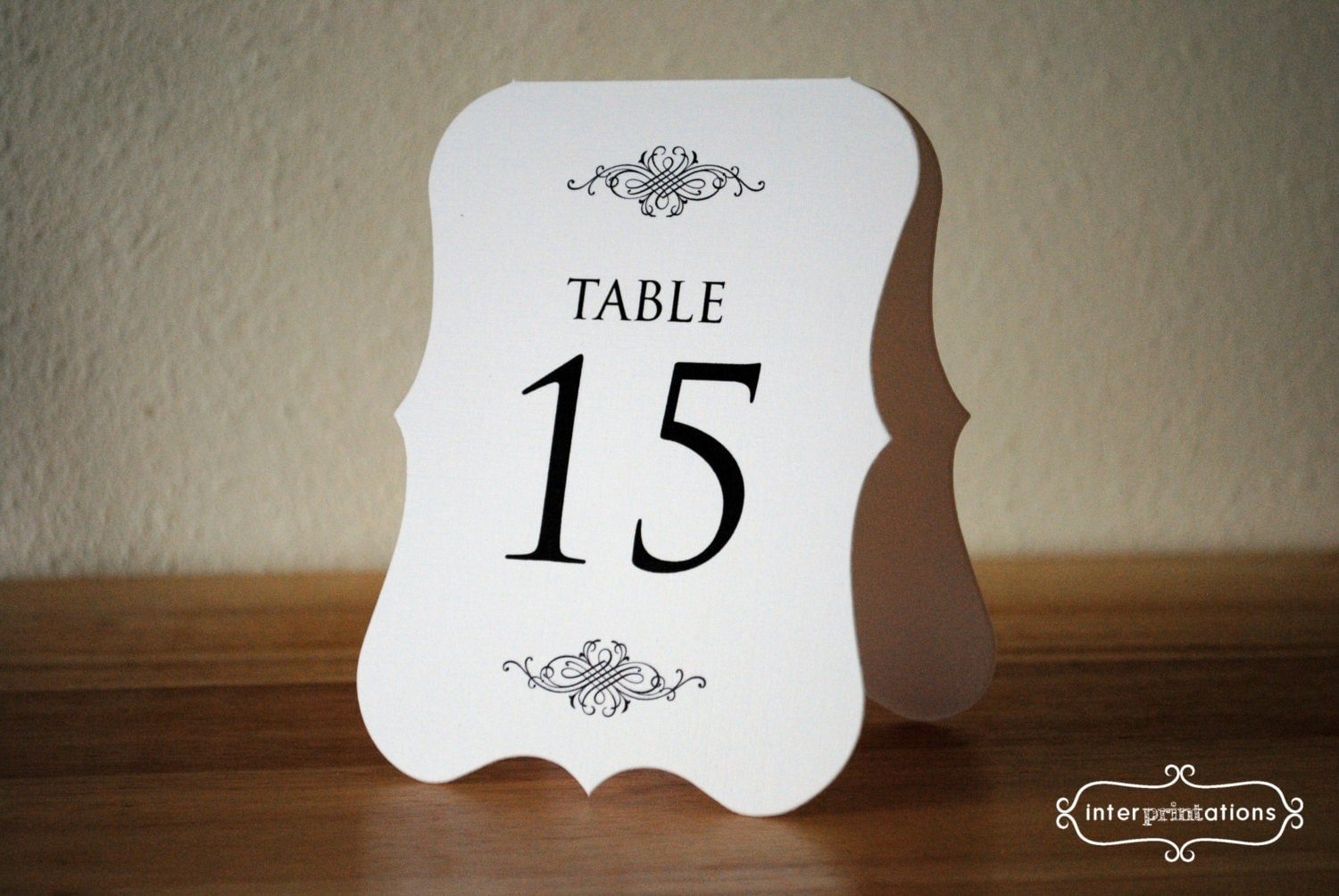 Displaying 18> Images For - Vintage Table Numbers Template...