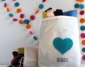 Felt // Scrap Bag // Wool Blend Felt, Fabric Scraps, Felt Pieces, Discount Felt, Variety Pack, Grab Bag, Wool Remnants, Assorted Felt