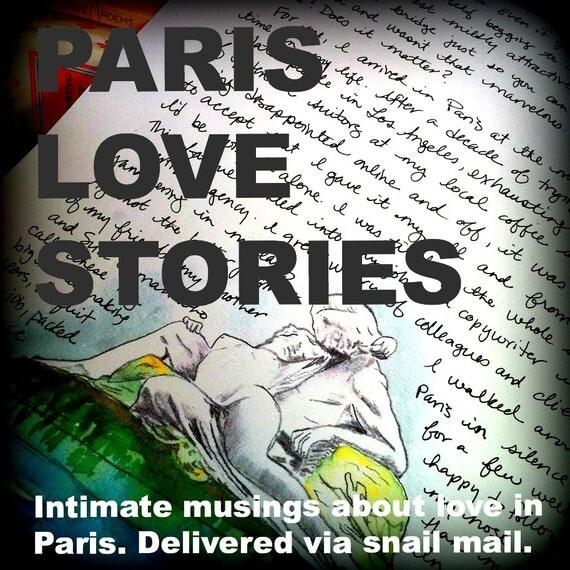 PARIS LOVE STORIES: 12 month subscription