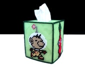 Pikmin Tissue Box Topper inspired by Nintendo Video Game