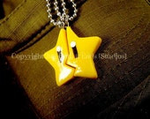 Friendship Nintendo Invincibility Star Necklaces