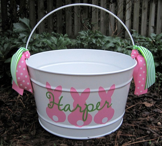 Items Similar To Personalized Easter Bucket 16 Qt Assorted