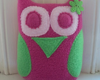 Owl Tooth Pillow for Her - Tooth Fairy Pillow Made to Order - Custom Tooth Pillow - Tooth Protector Owl