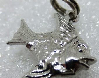 TROPICAL FISH Sterling Silver Charm or Pendant