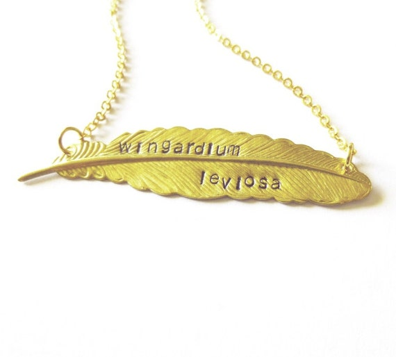 Harry Potter Necklace Harry Potter Quote Necklace Harry Potter Jewelry Hogwarts Necklace Hogwarts Jewelry Book Quote Necklace Quote Jewelry